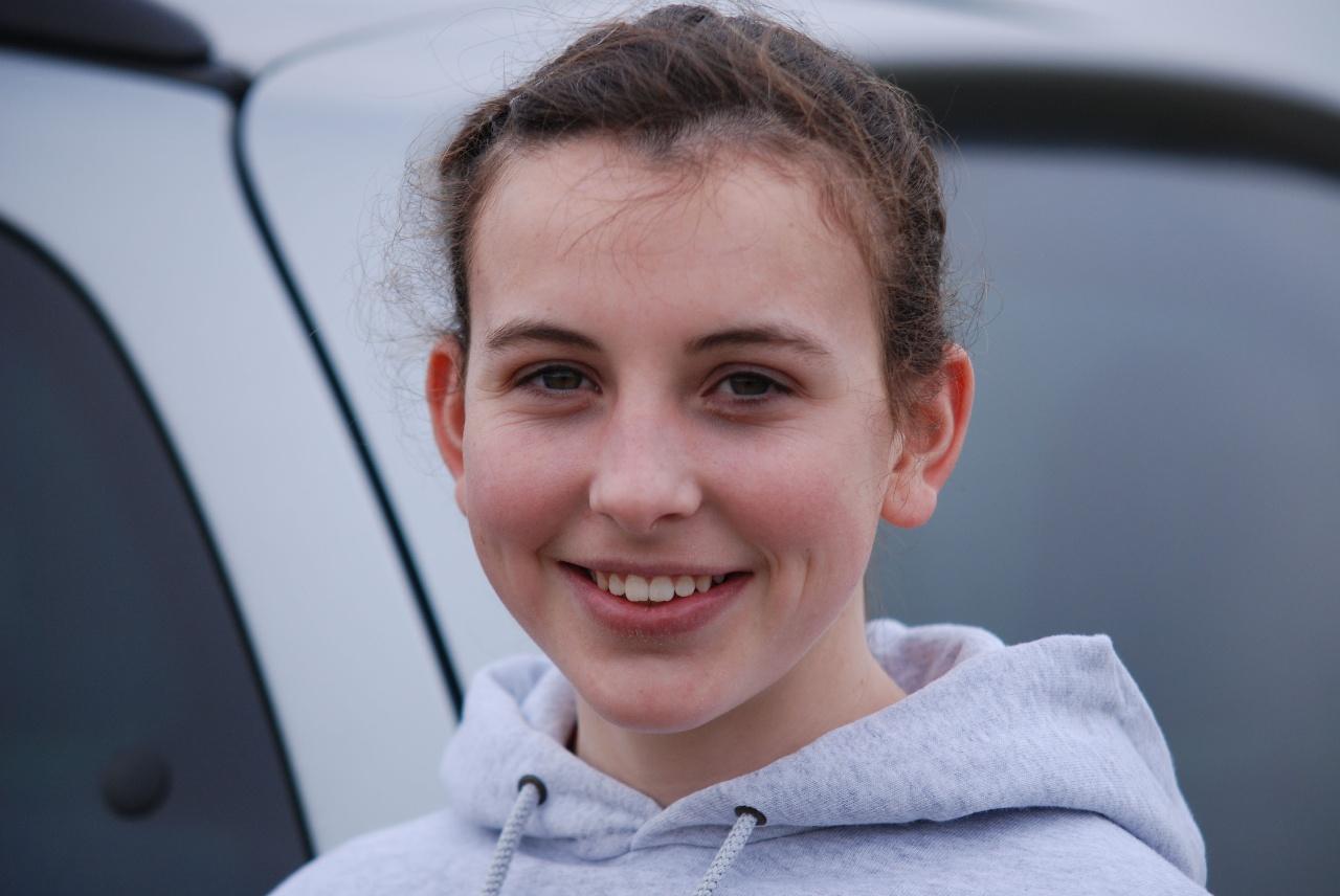 Gemma Astin and the Silver medal winning Lancashire U15 Girls team